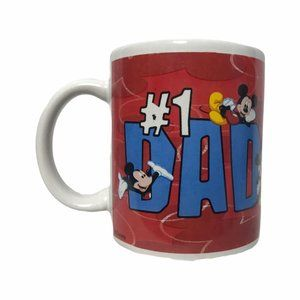 Walt Disney Mickey Mouse #1 Dad Vintage Mug